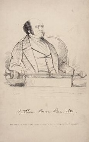 Engraving of W. R. Hamilton